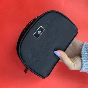 Kate Spade Mini Black Cosmetic Bag